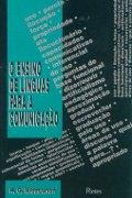 Capa do livro O ensino de línguas para a comunicação