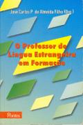 Capa do livro O professor de língua estrangeira em formação