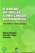 Capa do livro O ensino do inglês como língua estrangeira: estudos e reflexões