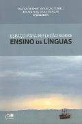 Capa do livro Espaço para reflexão sobre ensino de línguas