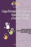 Capa do livro Língua Estrangeira para crianças:Ensino-Aprendizagem e Formação Docente