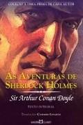 Capa do livro As aventuras de Sherlock Holmes