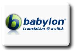 Ícone do dicionário da Babylon