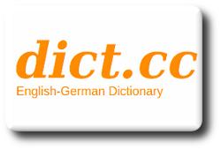 Ícone do dicionário Dict.cc