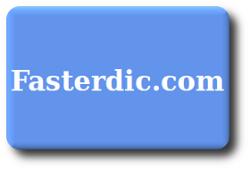 Ícone do dicionário Faster Dictionary