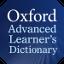 Ícone do dicionário Oxford (Advanced Learners)