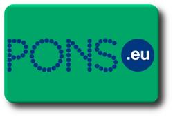 Ícone do dicionário Pons