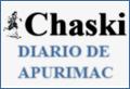 Logo do jornal Chaski