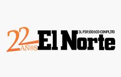 Logo do jornal El Norte