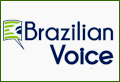 Logo do jornal Brazilian Voice