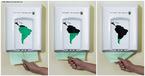 Propaganda da organização WWF abordando a relação entre o uso do papel e a destruição do meio ambiente.  Palavras-chave: WWF, preservação, papel, meio ambiente, lixo, reciclagem, uso, conscientização, propaganda.