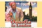 """Capa do DVD do filme """"Osuofia in London"""", comédia produzida pela indústria cinematográfica da Nigéria, uma das mais produtivas do continente, na atualidade. O filme conta a história de um nigeriano que, pela primeira vez, visita a capital inglesa, e vive situações inusitadas por conta das diferenças culturais. Palavras-chave: Cinema. Interculturalidade. Intencionalidade. Gêneros textuais. Texto não verbal."""
