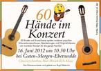 60 Hände im Konzert